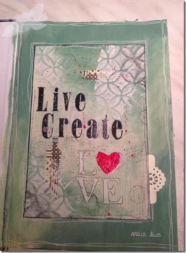 live, create, love