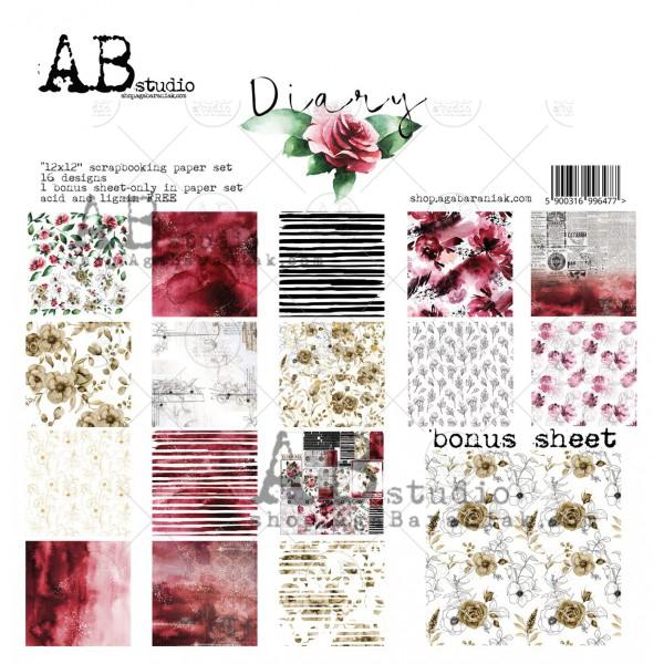 diary-scrapbooking-paper-set-8x-12-x12-bonus