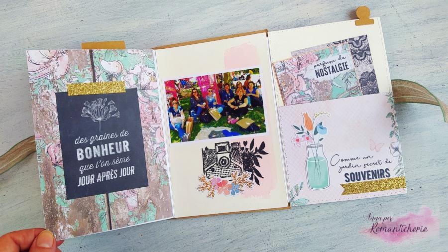 Envelope Mini Album Flipbook Tutorial